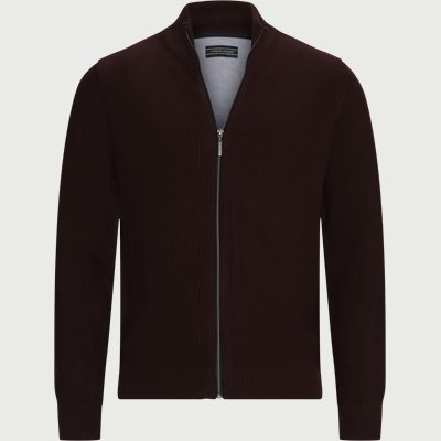 Munich Cardigan Regular | Munich Cardigan | Bordeaux
